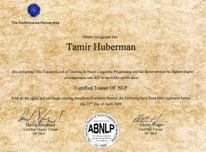 Trainer Trainer Certificate