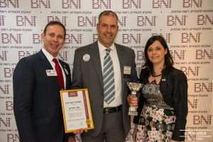 BNI Israel Annual confference 4.2.16 - with Yarden Noy and Sam Schwartz