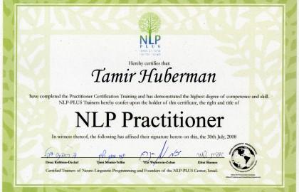 NLP Practitioner – NLP Plus
