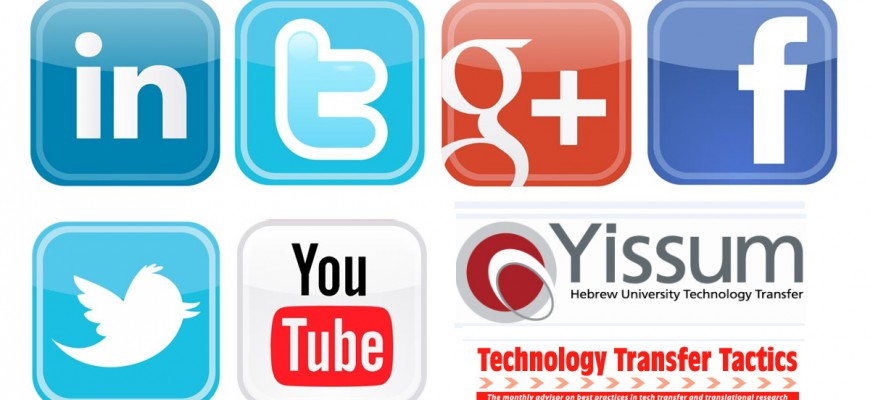 Yissum Maximizes IP Marketing Efforts by Harnessing Social Networks