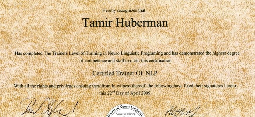NLP Trainer – David Shephard